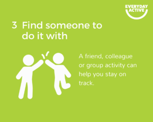 Get active, stay active tip 3