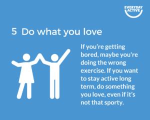 Beat the boredom tip 5