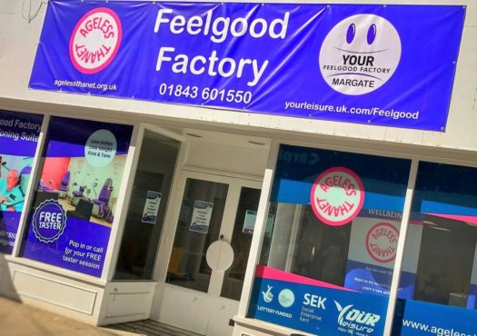 Image of the outside of Thanet's Feelgood Faxctory