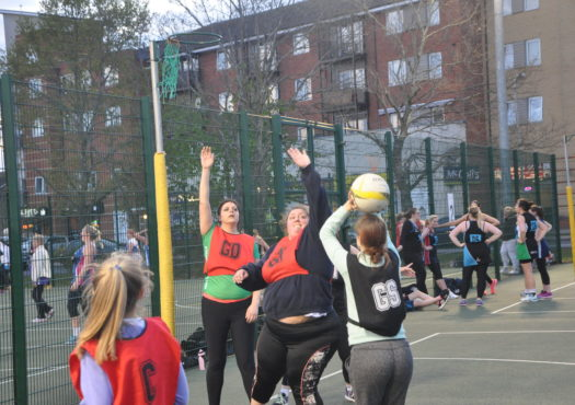 Sports banner image - netball