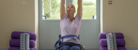 Home exercises for wheelchair users