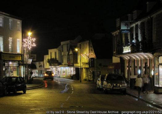 Image of Cranbrook at night time