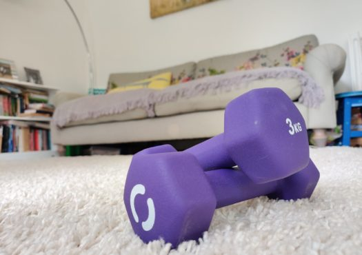 Dumbells for home exercise