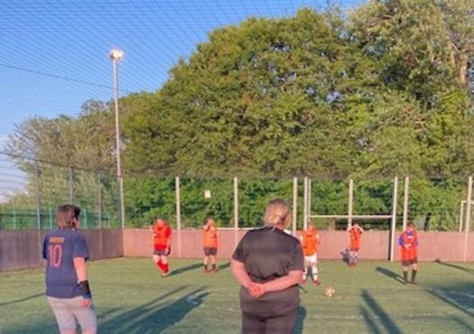 Womens recreational football in Thanet