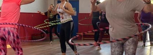 Over 50's Hula Hoop Class
